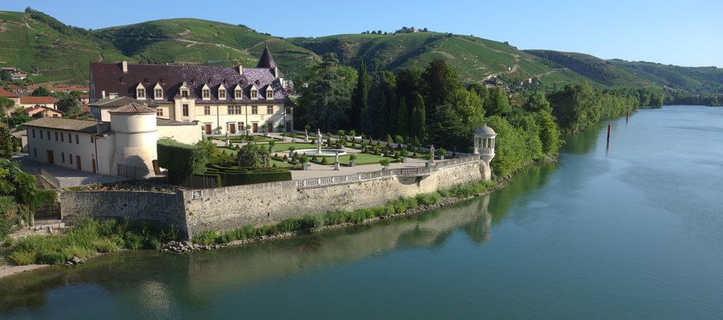 Château d'Ampuis, Côte du Rhône, Guigal