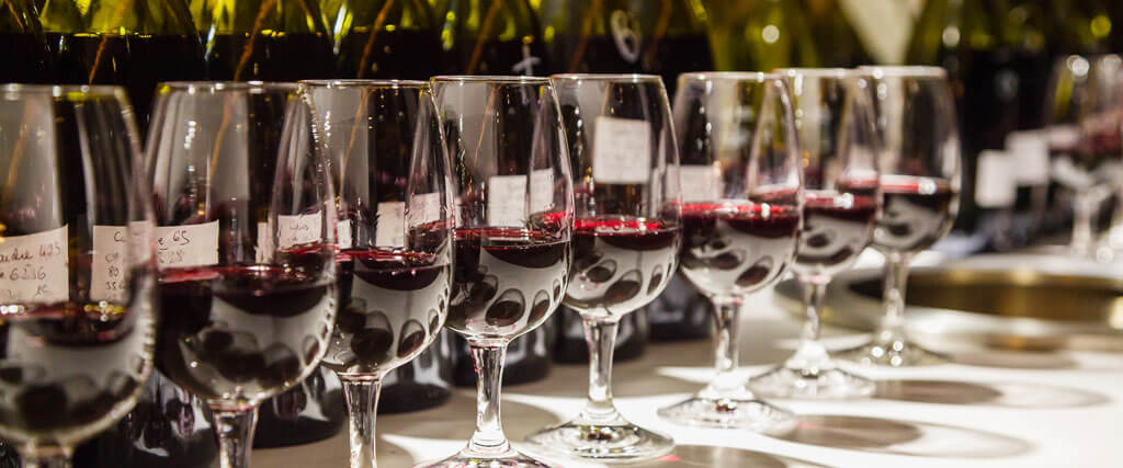 Côtes-du-Rhône wine tasting