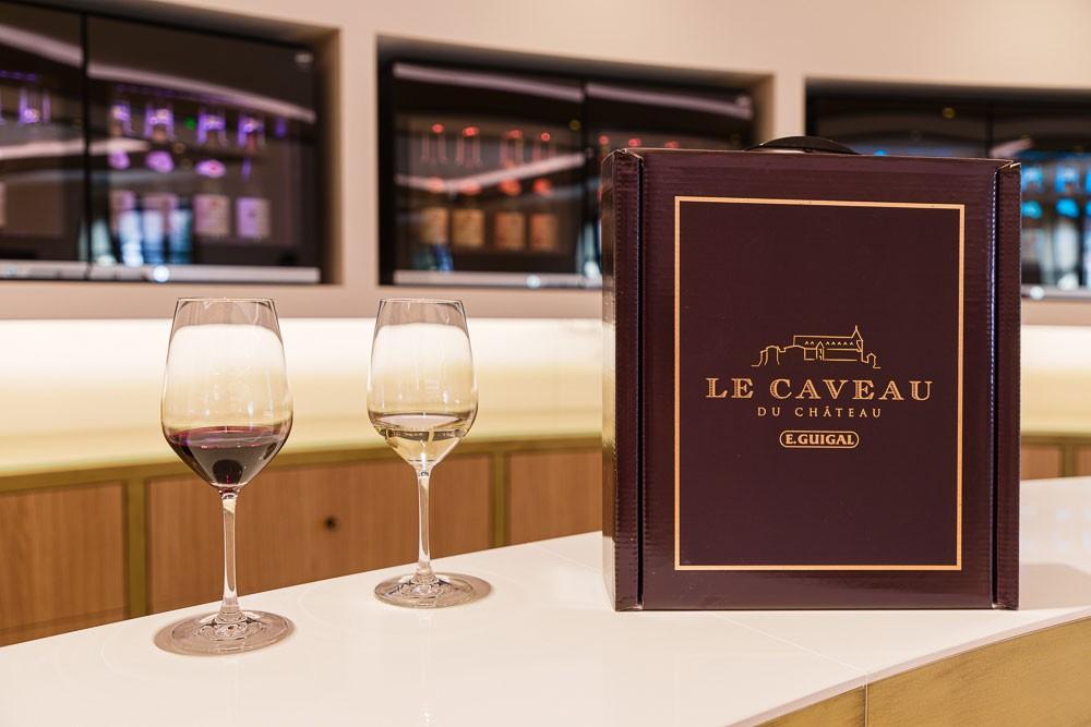 Accueil Dégustations Vins Caveau du Château