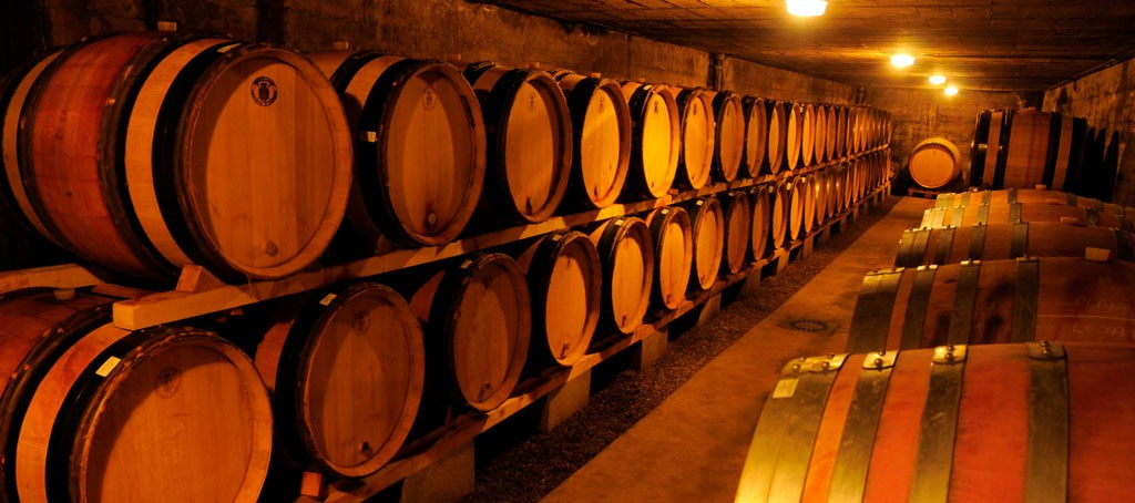Domaine de Bonserine cellar, Côtes-du-Rhône