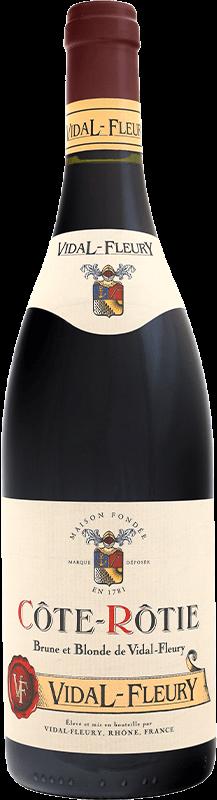 Côte-Rotie - Brune et blonde - Vidal-Fleury - Rouge