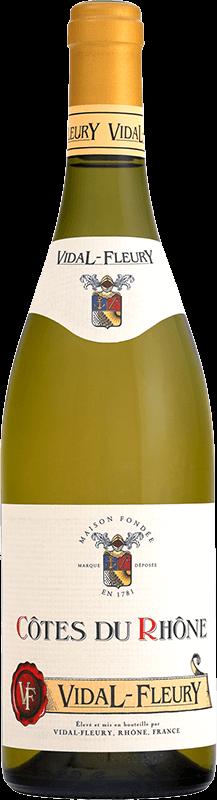 Côtes du Rhône - Vidal-Fleury - Blanc