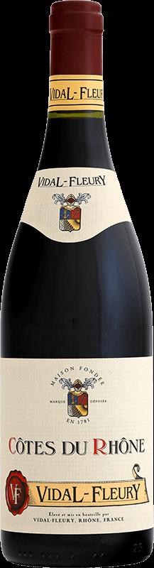 Côtes du Rhône - Vidal-Fleury - Rouge