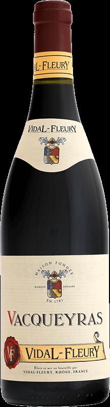 Vacqueyras - Vidal-Fleury - Rouge