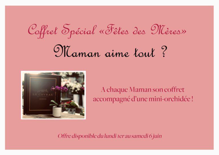 """Coffret Spécial Fêtes des Mères : """"Maman aime tout ?"""""""