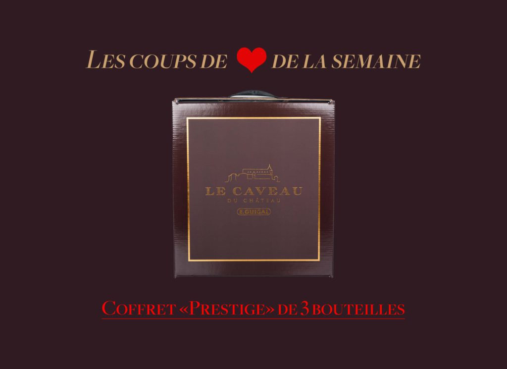 "The ""Coup de Coeur"" Box of the week - 3 bottles"