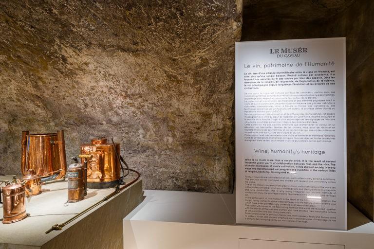 Prolongez l'expérience d'une dégustation en découvrant le Musée du Caveau !